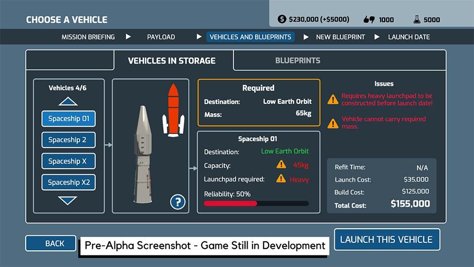 Tweak your rocket build Credit: Auroch Digital