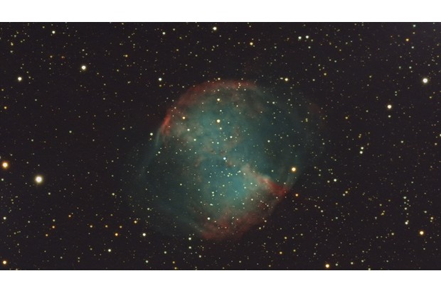 M27 Dumbell Nebula 60 minutes total exposure