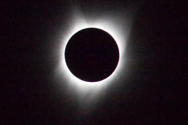 Pictures of solar eclipses
