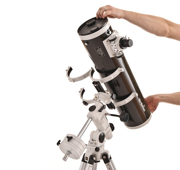 Setting up an equatorial mount for the first time can be a daunting task. But with practice it will soon become second nature.