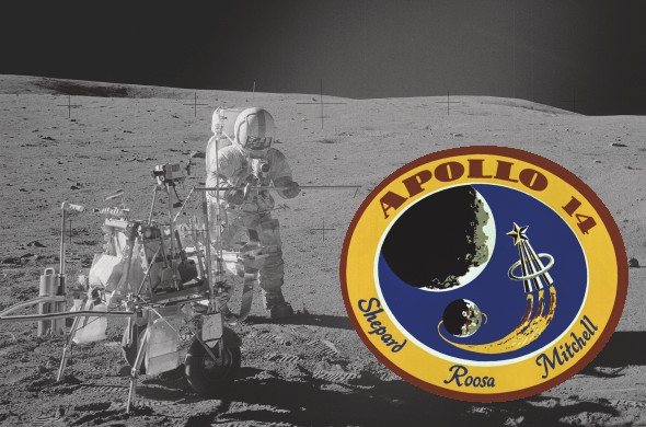 Celebrate the 40th anniversary of Apollo 14's journey to the Moon