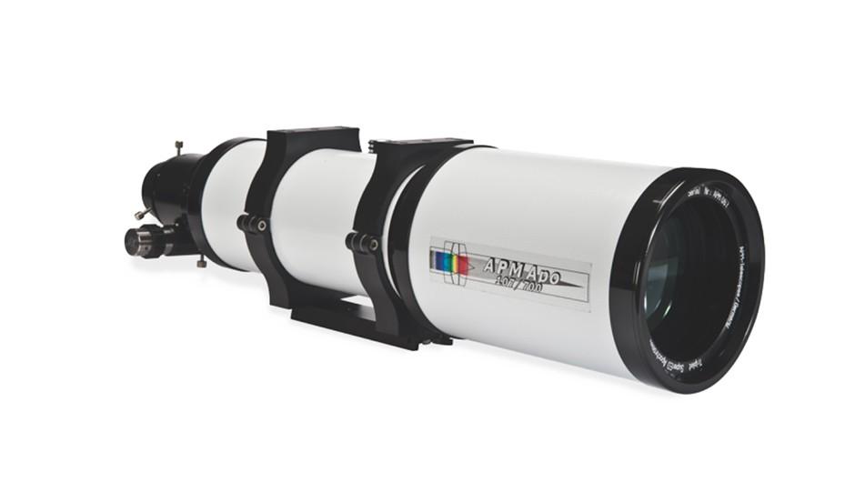 APM 107mm triplet apo refractor
