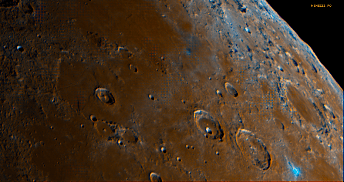 A guide to the Moon's Atlas and Hercules Craters