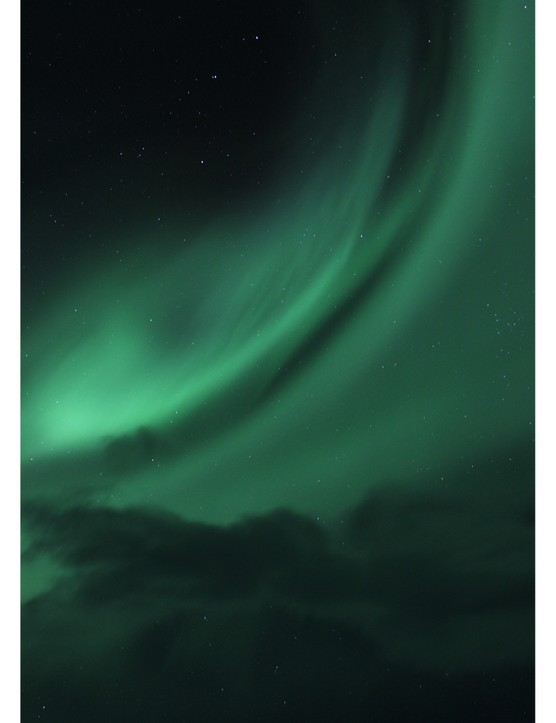 Aurora Over Iceland Stuart Woodall, Hali, Iceland. Equipment: Canon EOS 550D DSLR camera.