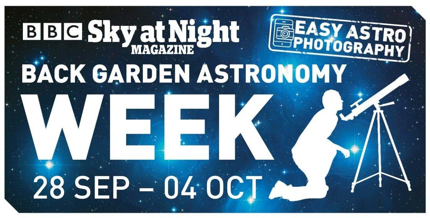 Sign up to Back Garden Astronomy Week and take part in BBC Sky at Night Magazine's stargazing campaign.