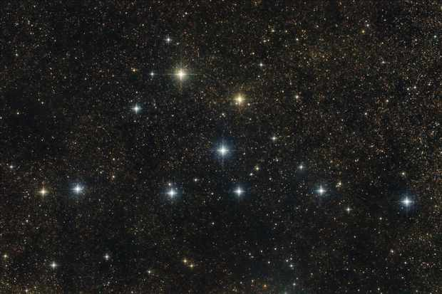 How to see the Coathanger Asterism