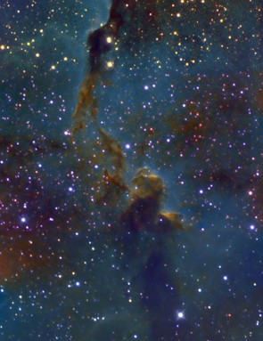The Elephant's Trunk Nebula Stephen Wilson, Middlesbrough, UK. Equipment: Atik 314l+ camera, Altair Astro 6-inch Ritchey-Chrétien Sky-Watcher HEQ5 Pro mount.