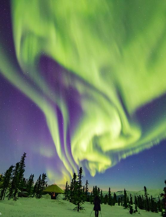 Alaskan Aurora Borealis John Chumack, Chena, Alaska, US. Equipment: Canon EOS 6D DSLR camera, 24mm lens.