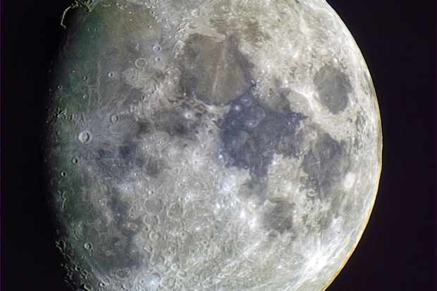 How to observe a gibbous Moon