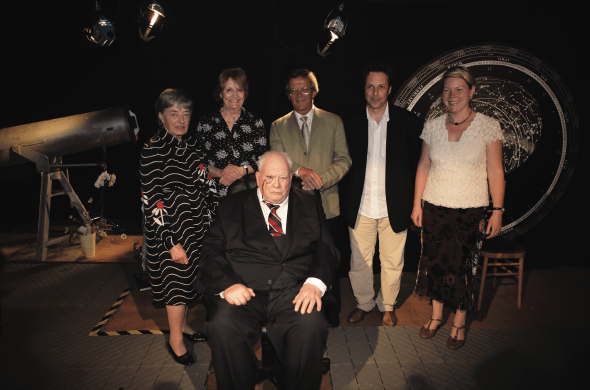 Online exclusive: Patrick Moore pays tribute to the Sky at Night TV producers