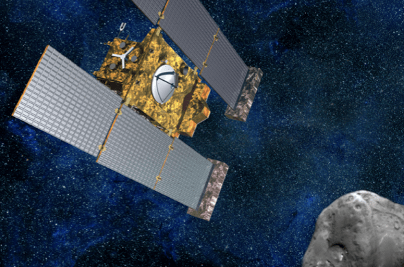 Comet-chasing Stardust spacecraft says goodbye with a final burst of fuel