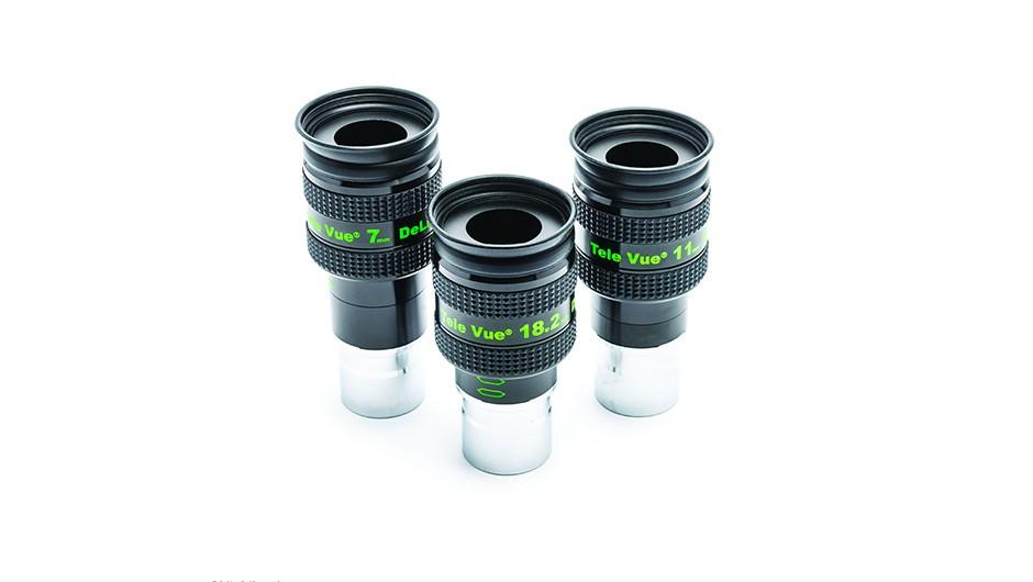 Tele Vue DeLite eyepiece range