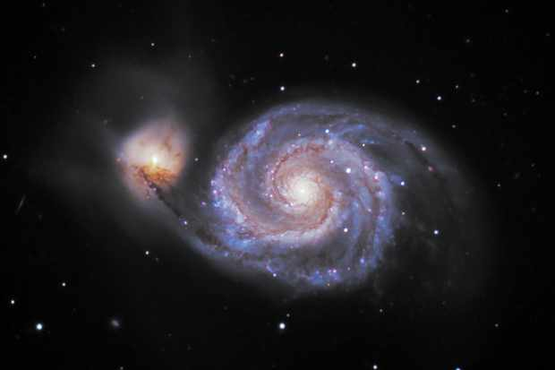 Pictures of the Whirlpool Galaxy