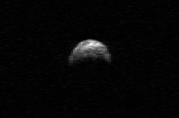 Asteroid 2005 YU55 will pass within 0.8 lunar distances of Earth