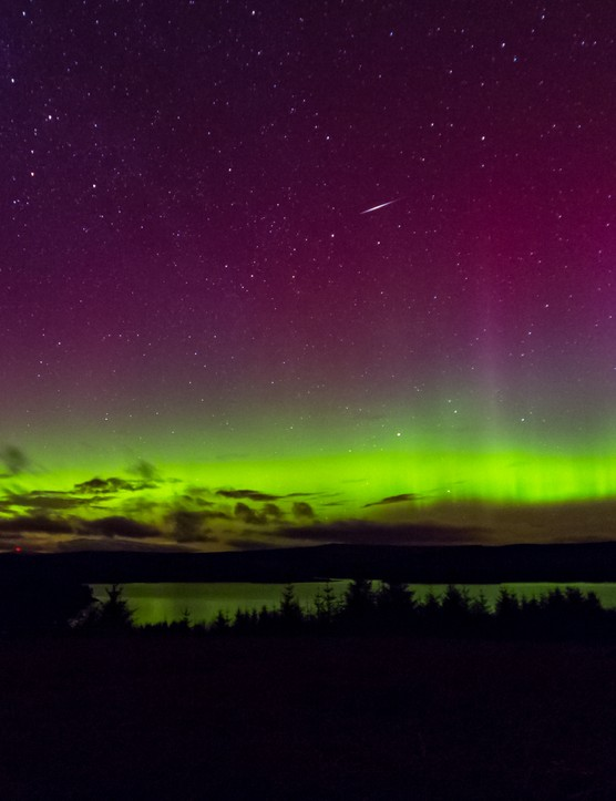 Kielder Aurora Alison Bossaert, Kielder Star Camp, UK. Equipment: Canon EOS 5D Mark III DSLR camera, Sigma 12.24mm lens.
