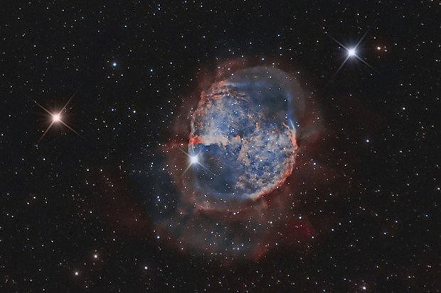 Pictures of the Dumbbell Nebula