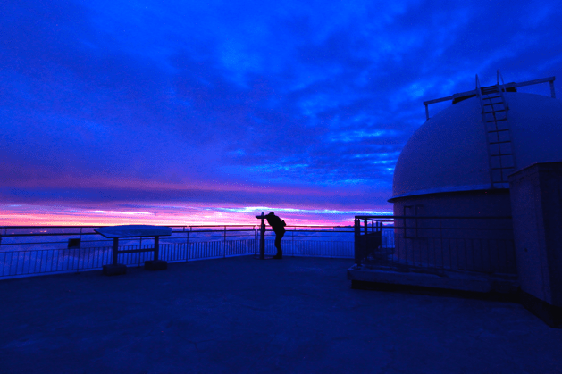 Witnessing sunrise at Pic du Midi is a real treat Credit: Gill Carter