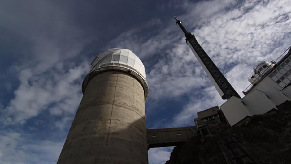 The 28m-tall Téléscope Bernard Lyot is Pic du Midi's jewel Credit: Jamie Carter