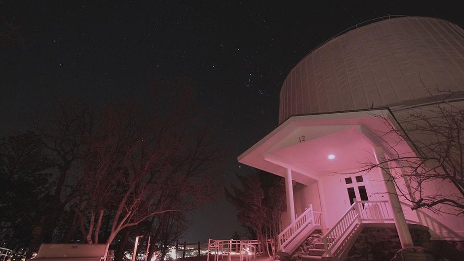 El Milano Hotel has a rooftop observatory. © El Milano Hotel