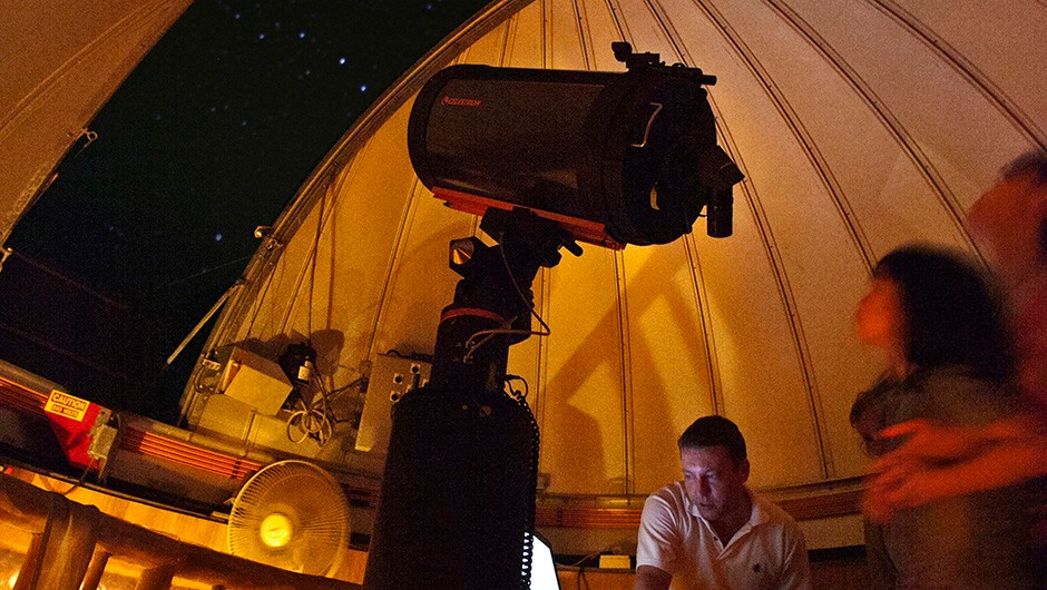 Six Senses Con Dao Resort in Vietnam has a 127mm Maksutov-Cassegrainian telescope. © Six Senses Con Dao