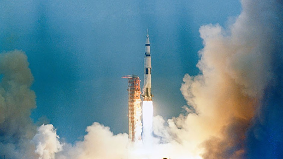 The launch of Apollo 9 from NASA's Kennedy Space Center in 1969. Credit: NASA