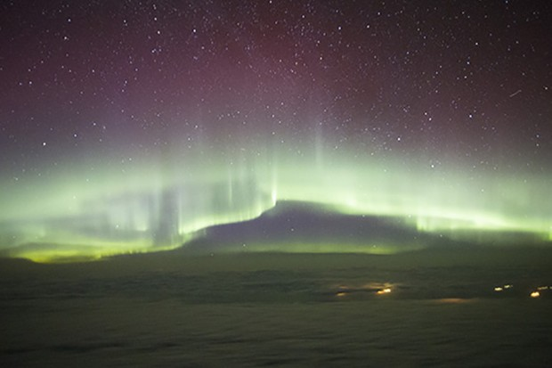 An image of the aurora. Credit: Pete Lawrence