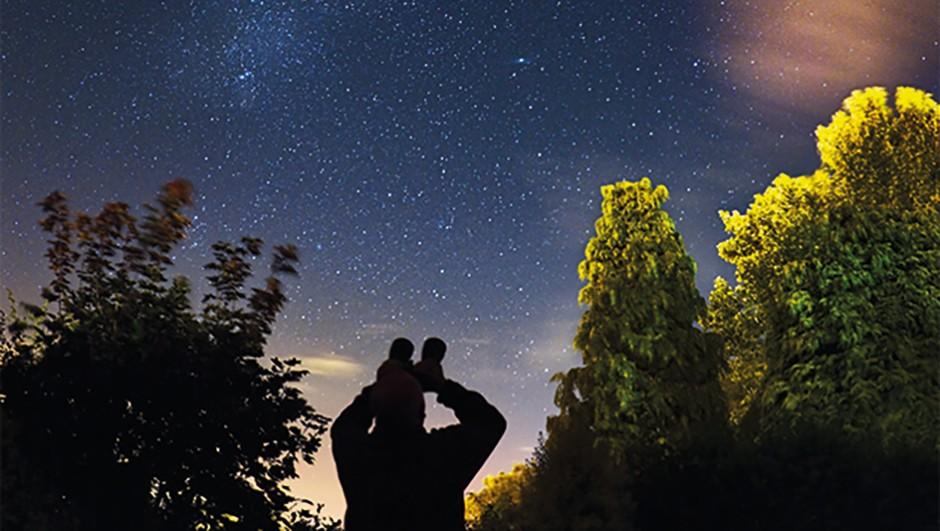 Binoculars can reveal surprising detail in many deep-sky objects. Credit: Jon Hicks