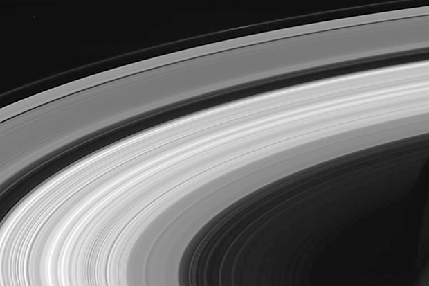 This is one of the last images of Saturn's rings taken by NASA's Cassini spacecraft, on 13 September 2017. Data from the mission is enabling scientists to learn more about the planet, its moons and its rings. Image Credit: NASA/JPL-Caltech/Space Science Institute