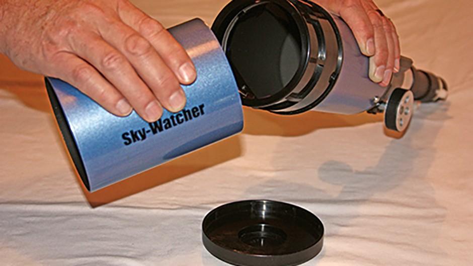 Clean refractor step 1