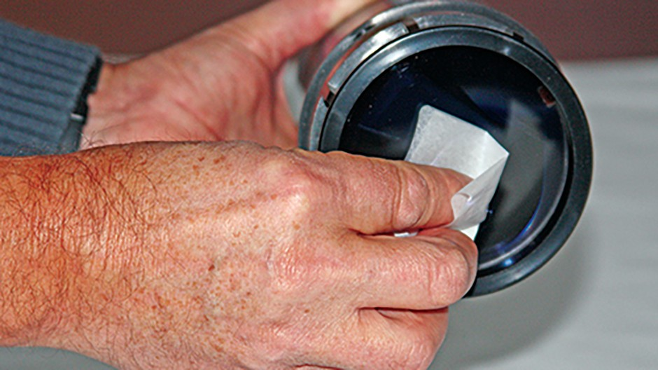 Clean refractor step 3