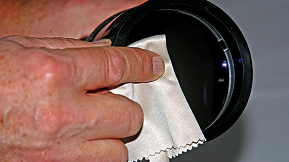 Clean refractor step 4