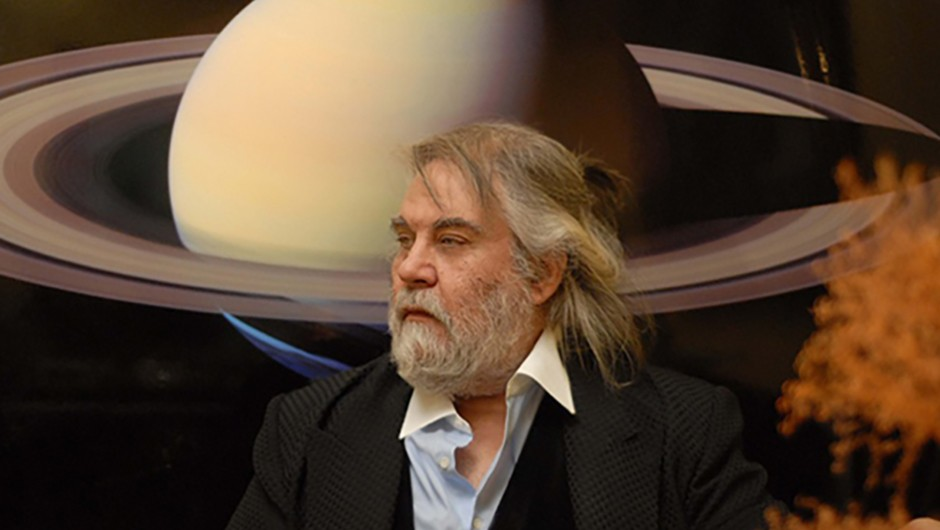 Vangelis's compositions are famous the world over. His latest work looks beyond Earth to one of the most daring missions in the history of space exploration. Credit: Stathis Zalidis