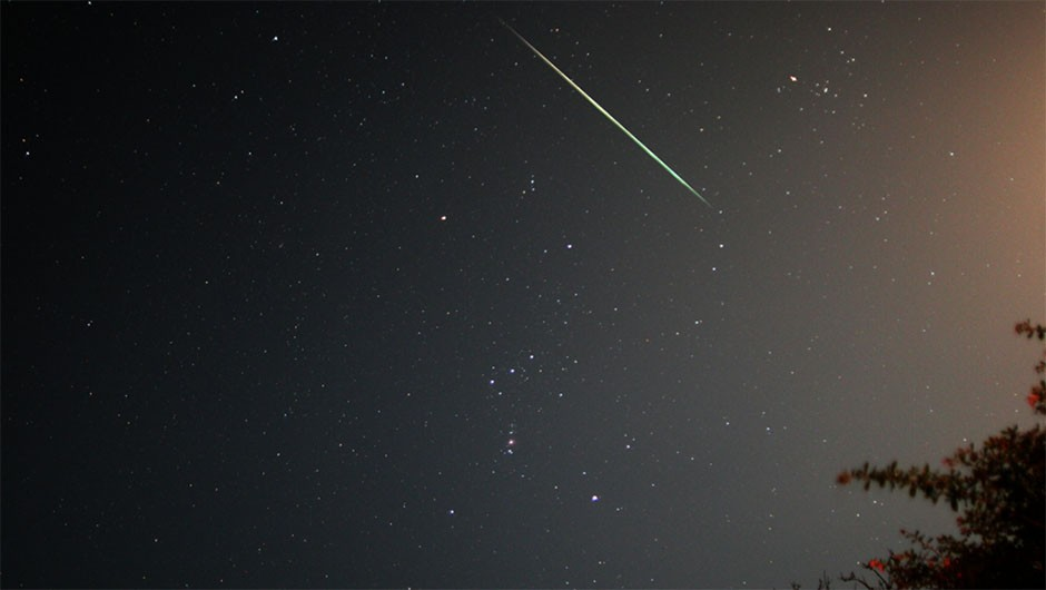 The Geminids is one of the most prolific meteor showers of the year. Credit: Pete Lawrence