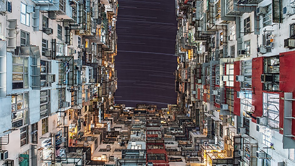 This amazing image taken from Quarry Bay, Hong Kong, won Wing Ka Ho the People & Space category in last year's competition. Wing used a Canon EOS 6D DSLR camera with 24mm lens. Credit: Wing Ka Ho