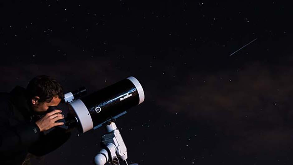 The Skyline Rotorua Stargazing trip offers big telescopes and a big sky.