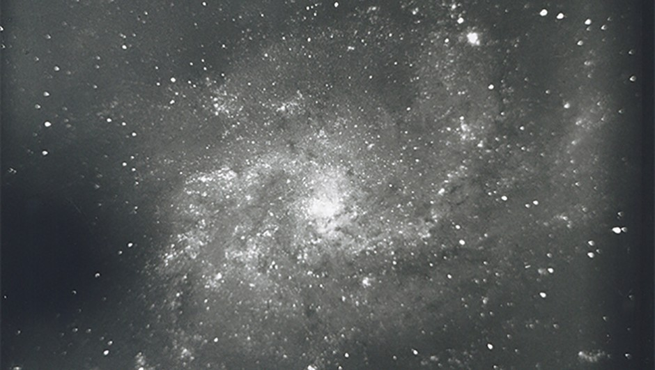 A 15-minute exposure of M33 the Triangulum Galaxy, captured by the INT during its time at Herstmonceux. Credit: Science Projects Ltd.
