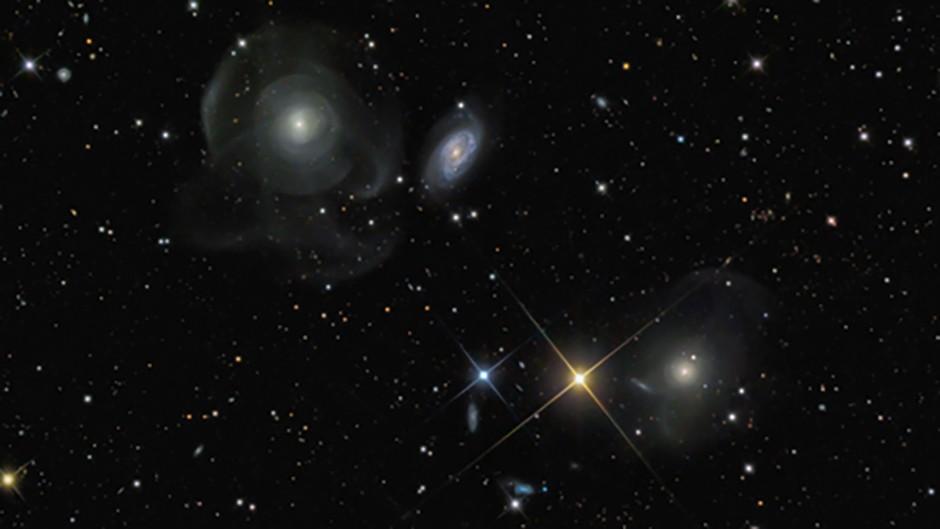 Marco Lorenzi - Shell Galaxies (NGC474 and NGC467)