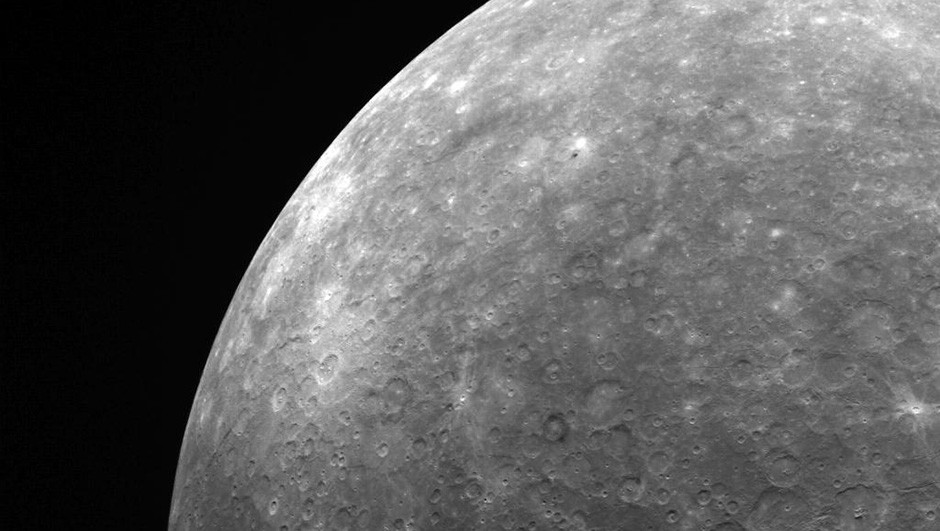 Mercury, as seen by the MESSENGER spacecraft. Credit: NASA/Johns Hopkins University Applied Physics Laboratory/Carnegie Institution of Washington