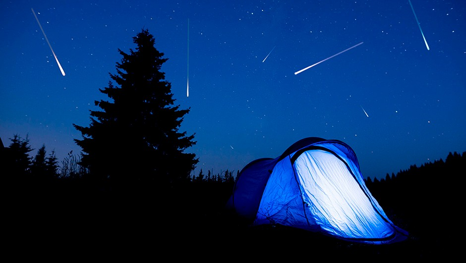 Meteors can produce incredible displays in the night sky at certain times of the year. Credit: iStock