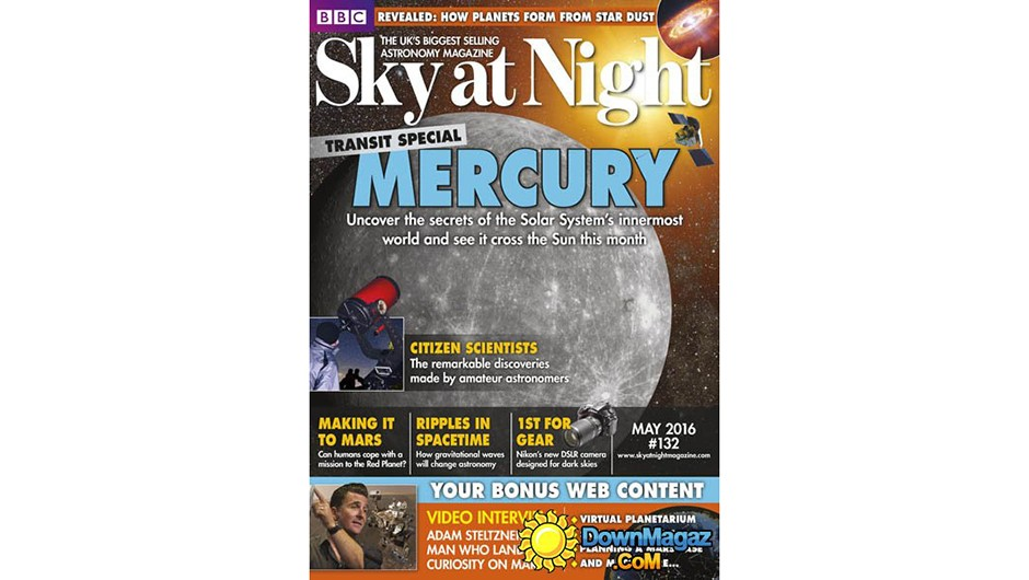 Sky At Night May 2016 cover