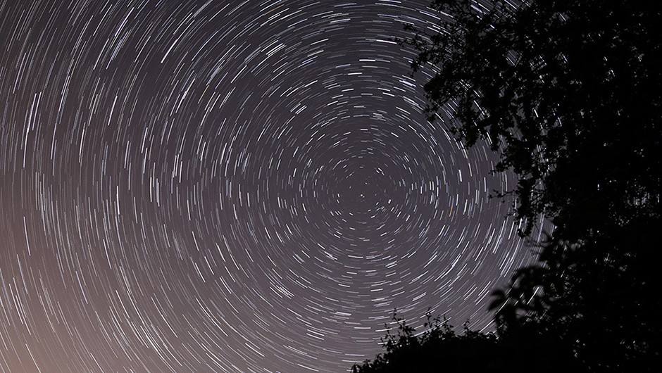 Peter Longden captured these star trails around Polaris from Buckinghamshire in the UK. Peter used a Canon EOS 5D Mark IV DSLR camera and 24mm lens. Credit: Peter Longden