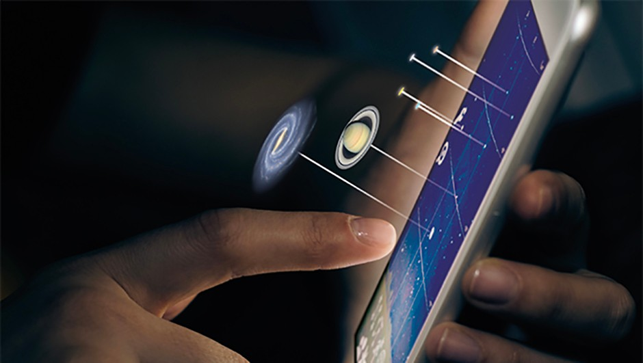 Your smartphone can be a powerful astronomy accessory during an observing session. Credit: iStock