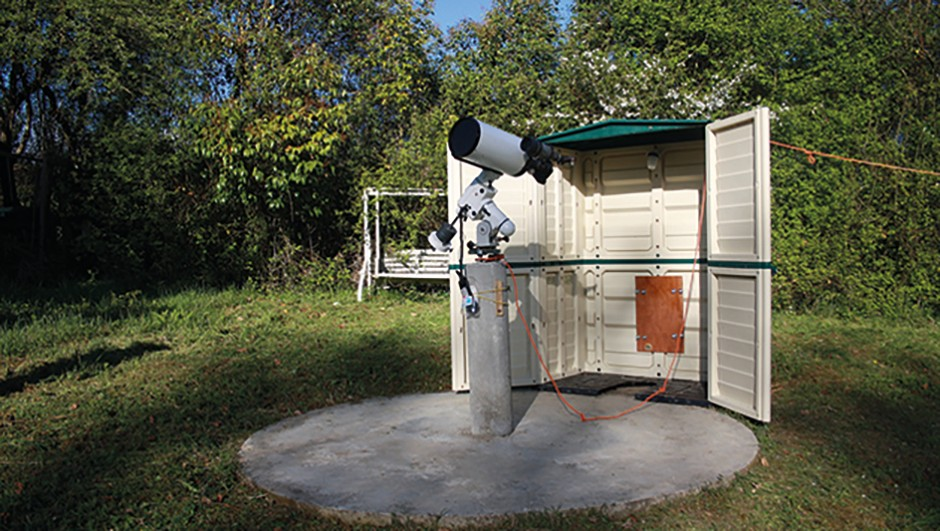 Telescope-pillar