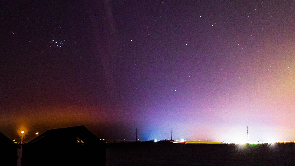 The aurora named STEVE (Strong Thermal Emission Velocity Enhancement) was seen on March 9, 2018 at 7:30 UTC over Crossfield, Alberta, Canada, for about 30 minutes.Image Courtesy Chris Ratzlaff Read more: https://www.nasa.gov/feature/goddard/2018/mystery-of-purple-lights-in-sky-solved-with-help-from-citizen-scientists NASA image use policy. NASA Goddard Space Flight Center enables NASA's mission through four scientific endeavors: Earth Science, Heliophysics, Solar System Exploration, and Astrophysics. Goddard plays a leading role in NASA's accomplishments by contributing compelling scientific knowledge to advance the Agency's mission. Follow us on Twitter Like us on Facebook Find us on Instagram