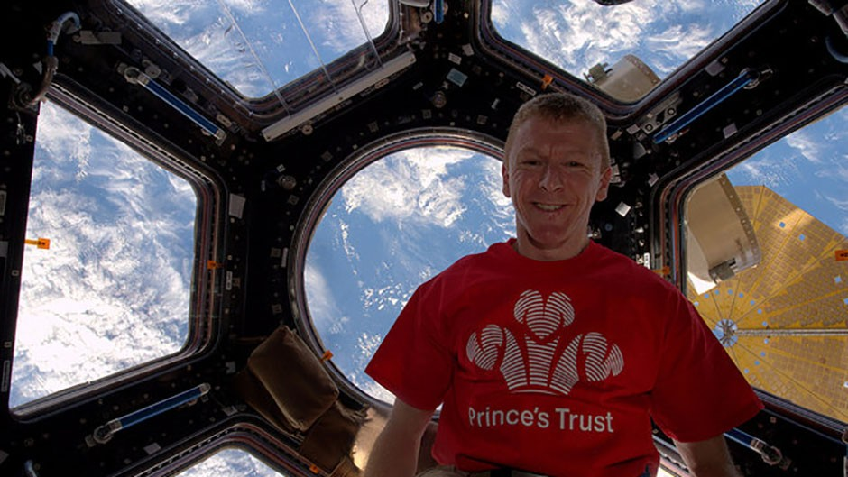 Tim Peake is donating his royalties for Ask An Astronaut to his chosen charity, The Prince's Trust. Credit: ESA/NASA