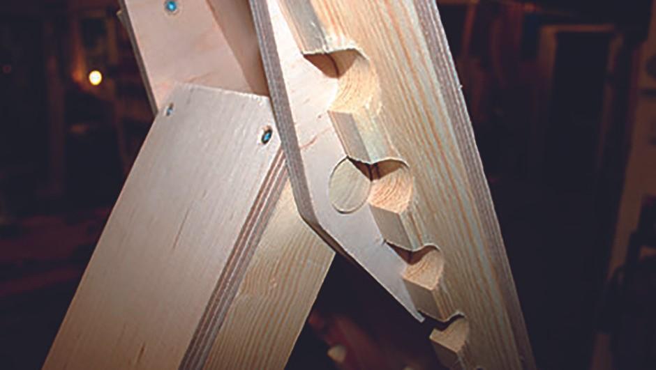 build chair STEP5