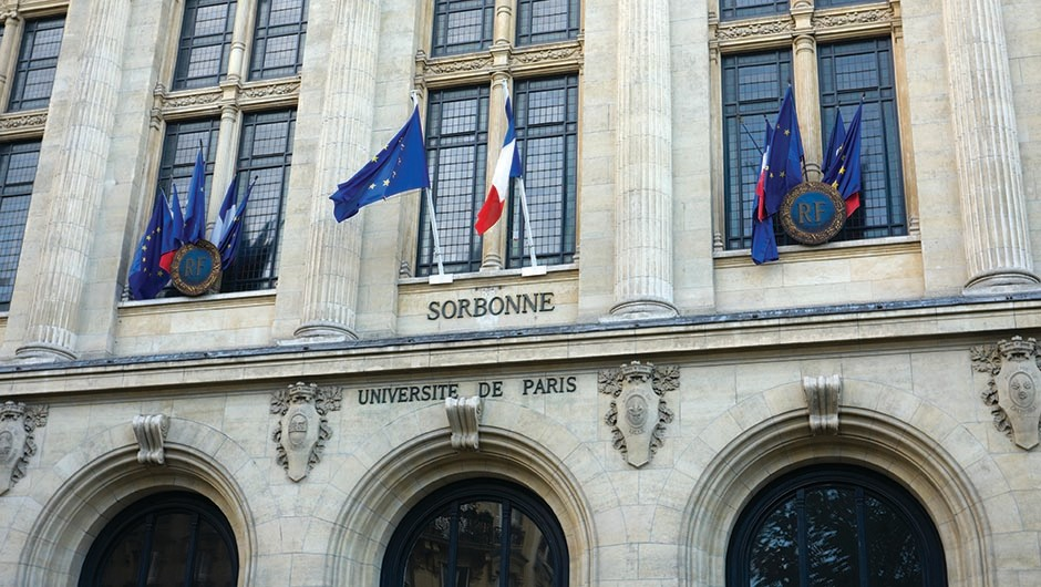 Founded in 1257, the Sorbonne didn't have a female professor until 1789. Image credit: iStock