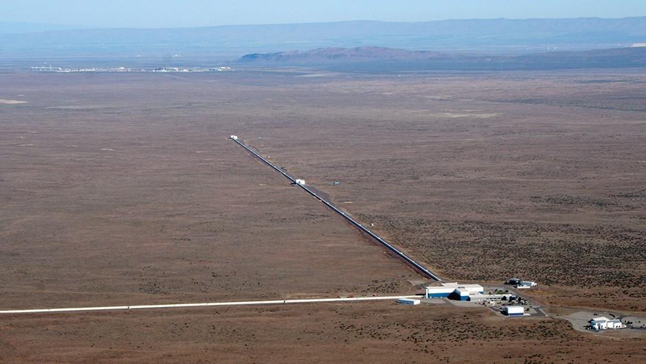 The Laser Interferometer Gravitational-Wave Observatory © LIGO
