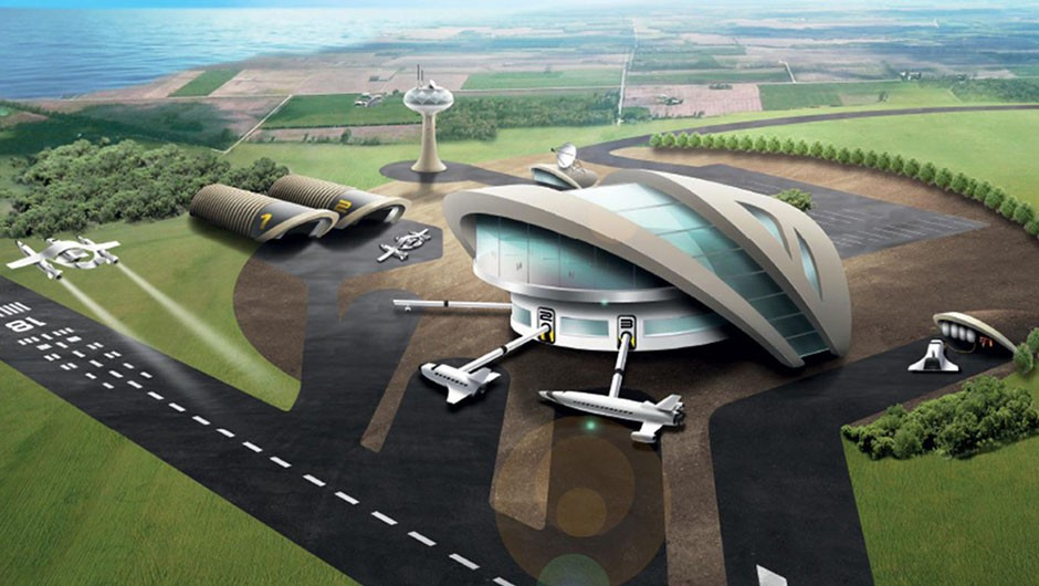 Several sites have been shortlisted as potential homes for a new spaceport. Credit: UK Space Agency