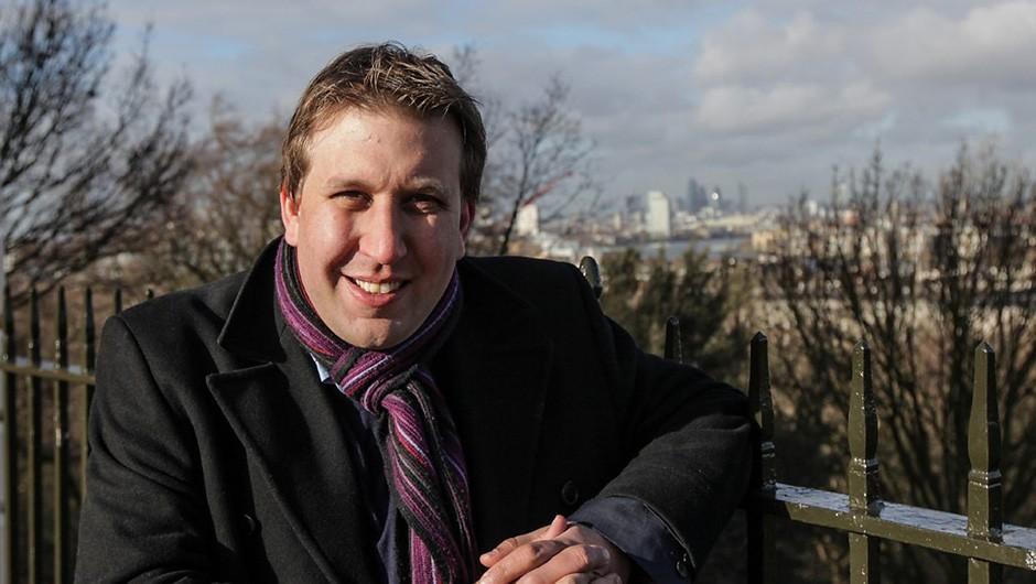 Sky At Night co-presenter Chris Lintott © BBC